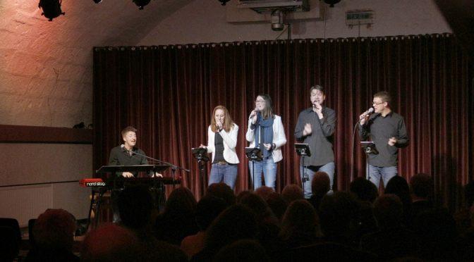 """Rückblick:<br> """"Gospel with Passion"""" im Wurmbergkeller"""
