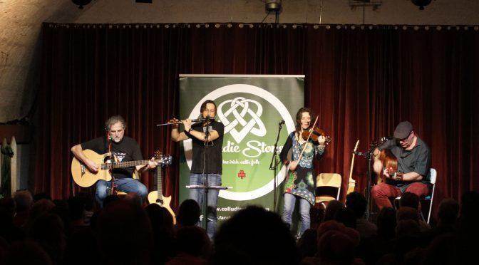 Fine Irish Folk im ausverkauften Wurmbergkeller